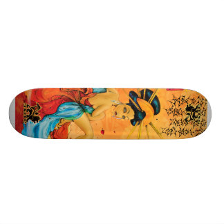 Reflection Geisha Skateboard