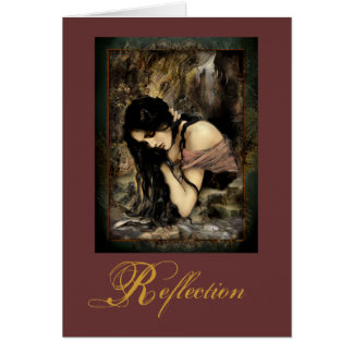«Reflection» Greeting Cards