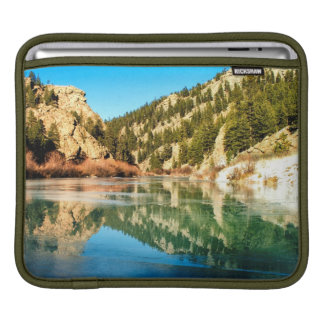 Reflection in Elevenmile Canyon iPad Sleeves