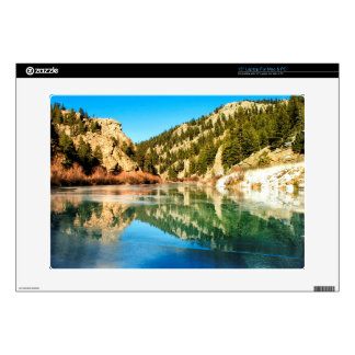 Reflection in Elevenmile Canyon Laptop Skin