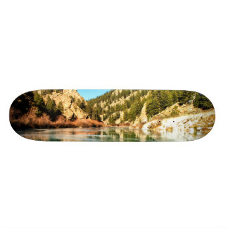 Reflection in Elevenmile Canyon Skateboard