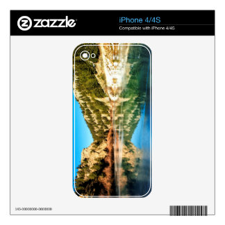Reflection in Elevenmile Canyon Decals For iPhone 4S