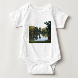 Reflection in the Pond Baby Bodysuit