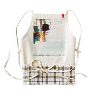 Reflection in water zazzle HEART apron