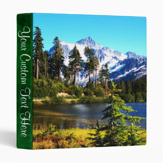 Reflection Lake 3 Ring Binder