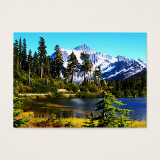 Reflection Lake Business Card