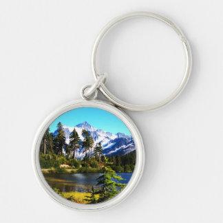 Reflection Lake Keychain