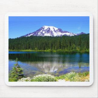 Reflection Lake Mount Rainier WA USA Mousepads