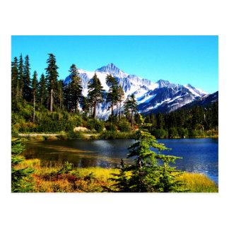 Reflection Lake Postcard