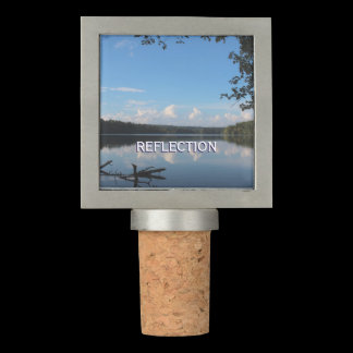Reflection Loch Raven Reservoir Baltimore Maryland Wine Stopper