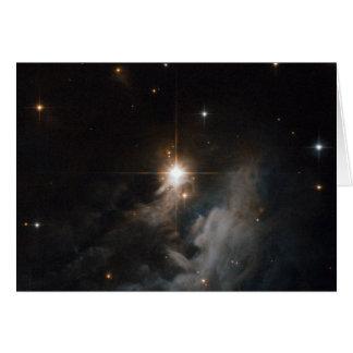 Reflection Nebula IRAS 10082-5647 Greeting Card