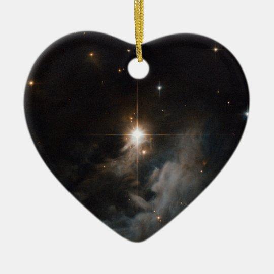 Reflection Nebula IRAS 10082-5647 Ceramic Ornament