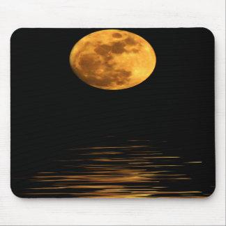 Reflection of a Full Moon Mousepad