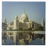 Reflection of a Museum Ceramic Tile
