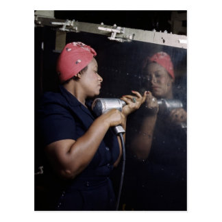 Reflection of a Riveter Postcard