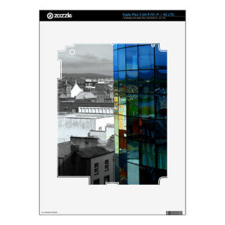 Reflection of Limerick iPad 3 Decal