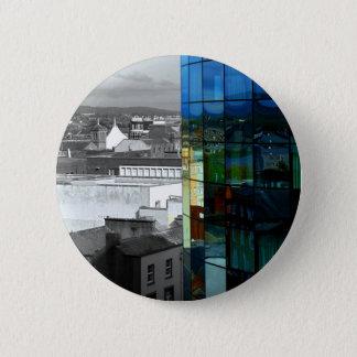 Reflection of Limerick Pinback Button