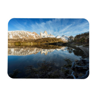 Reflection Of Patagonia Magnet