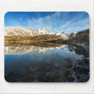Reflection Of Patagonia Mouse Pad