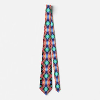Reflection of Texture and Color Neck Tie