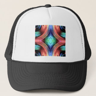Reflection of Texture and Color Trucker Hat