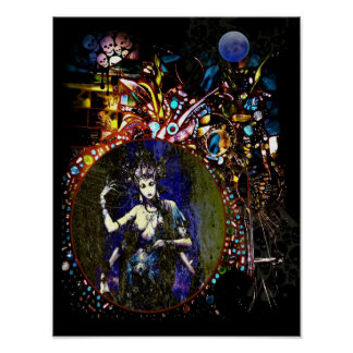 Reflection Of The Goddess Within Posters