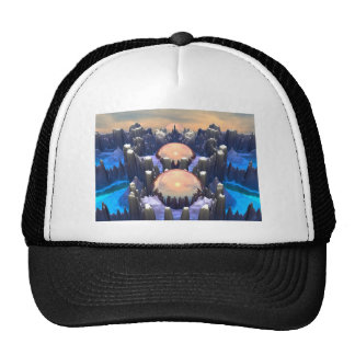 Reflection of Three Spheres Trucker Hat