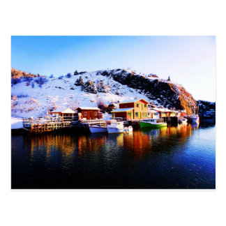 Reflection On Quidi Vidi Lake Post Cards
