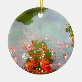 Reflection Pool Ceramic Ornament
