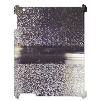 Reflection Themed, Glaring Metal Ring Texture Desi Cover For The iPad