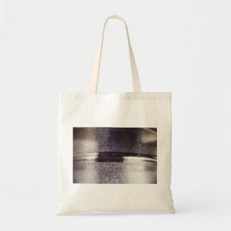 Reflection Themed, Glaring Metal Ring Texture Desi Tote Bag