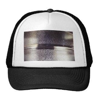 Reflection Themed, Glaring Metal Ring Texture Desi Trucker Hat