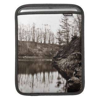 Reflection trees iPad sleeve