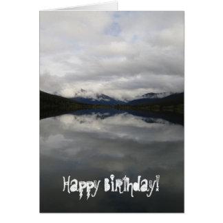 Reflection Tunnel; Happy Birthday Card