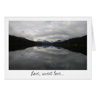 Reflection Tunnel; Sweet Nothings Card