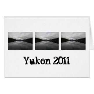 Reflection Tunnel; Yukon Territory Souvenir Card