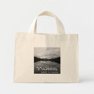 Reflection Tunnel; Yukon Territory Souvenir Mini Tote Bag