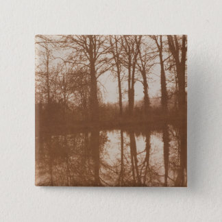 Reflections, 1843 (sepia photo) pinback button