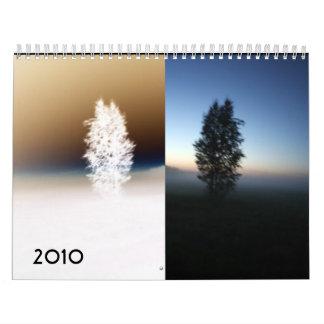 Reflections, 2010 wall calendar