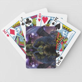 Reflections a Dragon Pool Bicycle Playing Cards