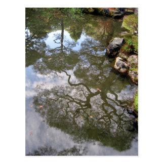 Reflections-a Zen Temple in Japan Postcard
