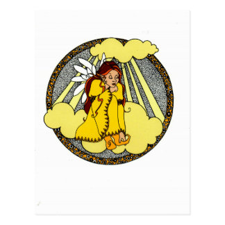 Reflections Angel Design Postcard