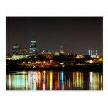 Reflections at Kaw Point in Kansas City Postcard