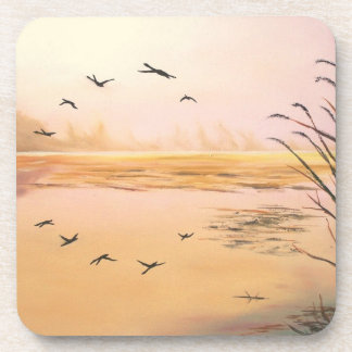 Reflections at Sunrise Beverage Coaster