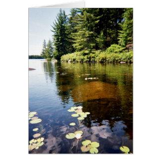 """""""Reflections at the Lake"""" Card"""