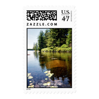 """""""Reflections at the Lake"""" Postage"""