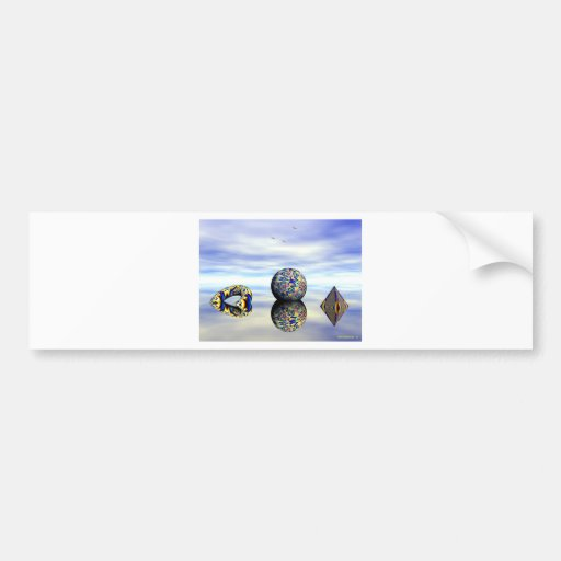 REFLECTIONS BUMPER STICKERS