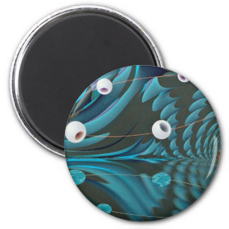 Reflections dimension refrigerator magnet