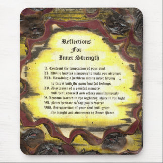 Reflections For Inner Strength Mouse Pad