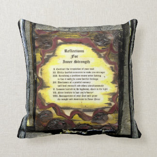 Reflections For Inner Strength Throw Pillow